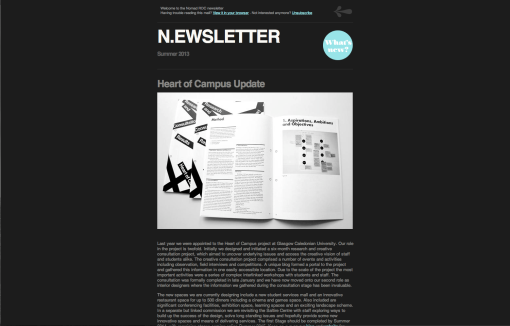 Nomad Newsletter Summer 2013