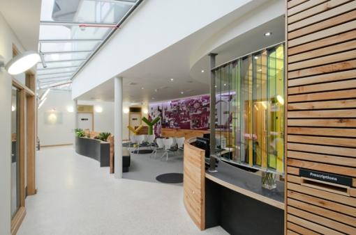 Rutland Surgery Waiting Room