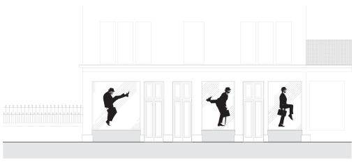 Window_Funny Walks