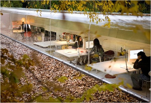 Selgas Cano Architecture Office Madrid, Spain by Iwan Baan