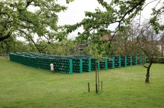 Bookyard, at Art Festival TRACK: A Contemporary City Conversation Ghent, Belgium by Massimo Bartolini